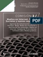 Medios en Internet, Redes Sociales y nuevos soportes