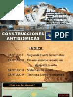 CONSTRUCCIONES ANTISISMICAS