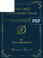 Chaucers Canterbury Tales Annotated and Accented