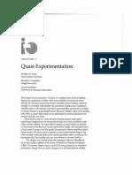 Cook, Campbell & Peracchio (1990) Quasi-experimentation