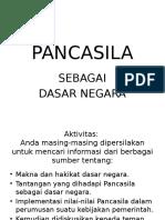 Urgensi Pancasila Sebagai Dasar Negara