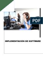 Implementación de Software