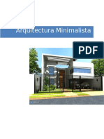 Arquitectura Minimalista Trabajo