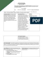 e-portfolio lesson plan