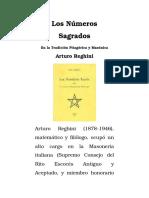 Los Numeros Sagrados en La Tradicion Pitagorica y Masonica
