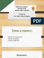 Redaccion Presentacion!