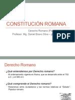 Constitución política romana