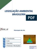 3 - Legislação ambiental