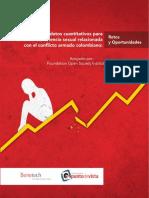 Violencia Sexual en El Conflicto Armado Colombiano