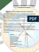 Diplomado en Control de Riesgos Industriales y Laborales SHA_22