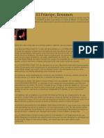 Maquiavelo Resumen
