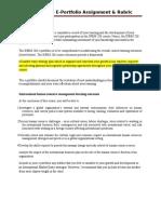 INBM 206 E-portfolio Assignmnet