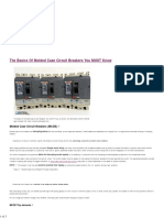 The Basics of Molded Case Circuit Breakers