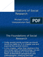 The Foundations of Social Research Ch 4
