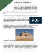 Las Escuelas De Sabiduría En El Antiguo Egipto