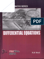 Differential Equations by NP Bali