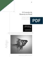 O Conceito de Paranoia Em Freud
