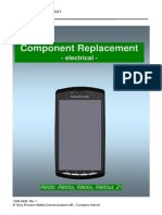 Sony Ericsson Xperia Play R800 Z1 Component Replacement - Electrical v1