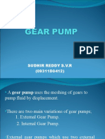 Gear Pump Sudhir Reddy S.v.R