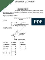 12_Multiplicación y División