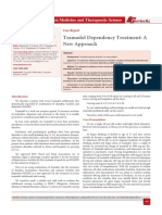 Tramadol Dependency Treatment