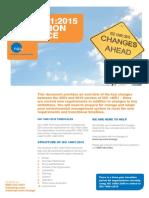 NQA ISO 14001 2015 Transition Guidance
