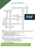 Crosswords Business Activity 2 (1)
