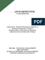 Finance Detective