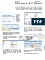 Formumalios Access 2007