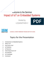 Impact of IOTs on Embedded Systems