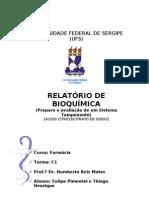 Relatório de Solução-Tampão Citrato e Ác. Cítrico