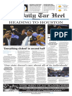 The Daily Tar Heel for March 28, 2016
