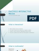 Interactive Media Notes