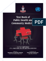 Text Book of Public Health and Community Medicine