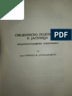 Borivoje M. Drobnjaković~Smederevsko Podunavlje i Jasenica