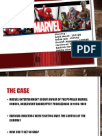 marvel case analysis Marvel entertainment, inc strategic management and strategic management and business policy marvel business ethics case analysis nd http.