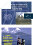 Indicators for Tourism Development