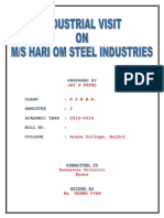 Hari Om Steel Industries