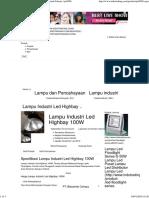 Lampu Led Highbay 100watt