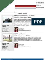 Multiple Rental Brochure