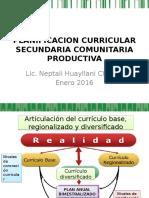 Planificacion Curricular Secundaria