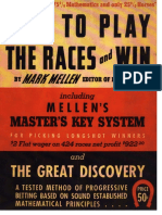 How to Play the Races and Win