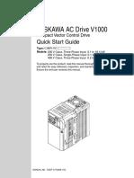 Yaskawa V1000 CIMR VC Guide