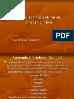 Ingrijiri Ciroza Hepatica