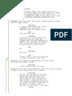 script the matrix - pill scene