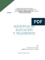 Máquinas de Elevación y Transporte