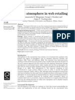 Store Atmosphere in Web Retailing