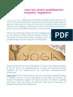 Yoga in Bremen bei einem qualifizierten Tripada® Yogalehrer
