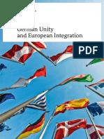 German Unity and European Integration