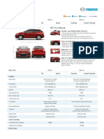 Mazda CX-7 Specifications